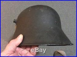 German ww2 m18 helmet reissue, certified
