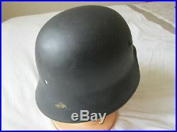 Guaranteed Original WW2 German Helmet Shell