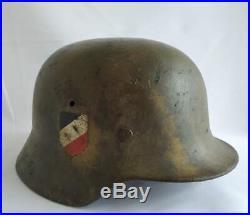 Helmet German Model Germany Ww2 Original M-40