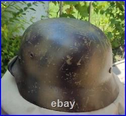 Helmet german original nice helmet M35 size 66 have a number original WW2 WWII