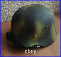 Helmet german original nice helmet M35 size 68 have a number original WW2 WWII