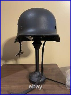 Helmet german original nice helmet M40 size 66 original WW2 WWII