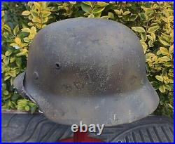 Helmet original nice german helmet M35 size ET66 have a number WW2 WWII