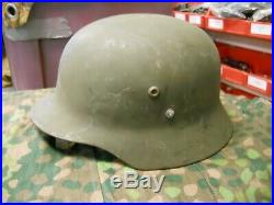 Hungarian WWII M35 German style Helmet