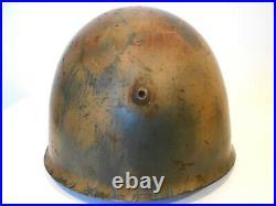 Italian Helmet M33 WWII COMBAT camouflage italian campaign German Helmet WWII