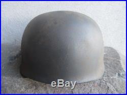Late War Ww2 Wwii M38 Ckl71 German Paratrooper Fallschirmjager Helmet