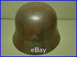 M-40 German camo named helmet. Ww2. Size 64. Liner