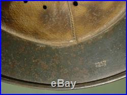 M-40 German helmet. Ww2 air. Size 62. Complete with liner. Camouflage
