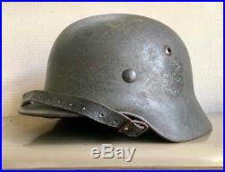M35 German Helmet Single Decal 100% Original WWII