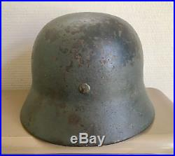 M35 German helmet DD Stahlhelm ET64 original WW2