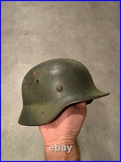 M40 Or M42 WW2 WWII German Battle Helmet Original 66cm