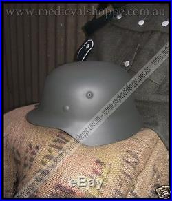 M40 WW2 German Helmet, Large Size Functional & Accurate Replica with Liner