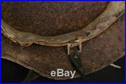 M40 size 66 Original-Authentic WW2 WWII Relic German helmet Wehrmacht