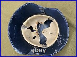 Near Mint WW2 German Luftshultz Helmet
