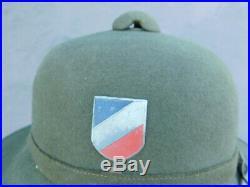 Nice Original Vintage WWII German Army tropical Pith Helmet Afrika Korps