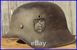 Nice original German WWII Helmet FREE Shipping