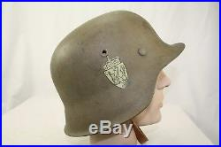Norwegian Reissue Model 42 German Helmet Size Et 64