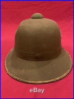 ORIGINAL Vet Bring-Back WWII DAK Afrika Korps German Pith Helmet Second Pattern