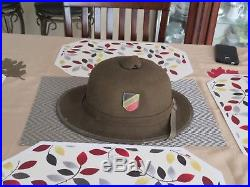 ORIGINAL WWII 1942 GERMAN TROPICAL PITH HELMET (for AFRICA CORP) 2nd Pattern