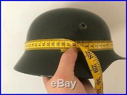 ORIGINAL WWII German Stahlhelm M40 Helmet WW2 Marked Q