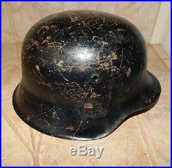 Old Ww2 German Helmet Et64