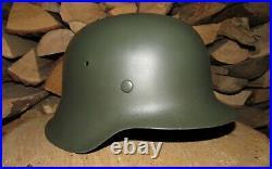 Original-Authentic WW2 WWII Relic German helmet Wehrmacht #187