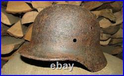 Original-Authentic WW2 WWII Relic German helmet Wehrmacht #246