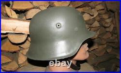 Original-Authentic WW2 WWII Relic German helmet Wehrmacht #4