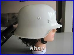 Original German Helmet M35/42 Ww2 Stahlhelm