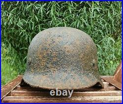 Original German Helmet M35 Relic of Battlefield WW2 World War 2