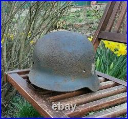Original German Helmet M35 Relic of Battlefield WW2 World War 2 Liner Decal
