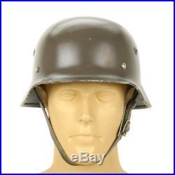 Original German M40 WWII Type Steel Helmet- Finnish M40/55, Size 60cm US 7 1/2