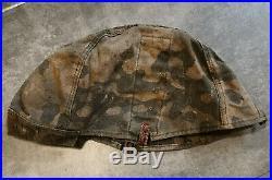 Original German WW 2 Camouflage Helmet Cover
