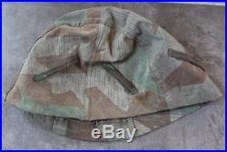 Original German WW 2 Steel Helmet Camo Cover