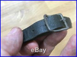 Original German WW II Helmet Chin Strap 1942 Maker Marked
