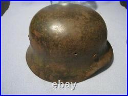 Original German WW2 M40 Heer Helmet With Single Decal
