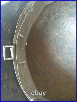 Original German WW2 steel helmet Wehrmaht Native paint