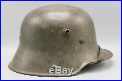 Original German WWI / WWII Transitional Army Helmet