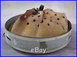 Original German WWII Dated 1941 Helmet Liner Size 56 Reissued Post War 64 Shell
