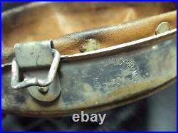 Original German WWII Helmet Liner Named to Unteroffizier Dated 1941