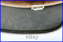 Original German WWII M35 No Decal Helmet Bringback Named