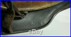 Original German WWII M35 Steel Helmet, E. F. 66 21581, Good Condition withLiner
