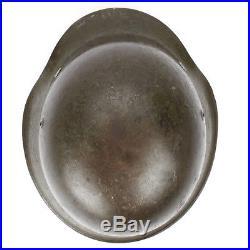 Original German WWII M42 Stahlhelm Steel Helmet- Shell Size 66, Maker Marked