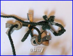 Original WW 2 German Steel helmet Net / Camouflage Net