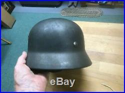 Original WW II German M-35/40 Helmet