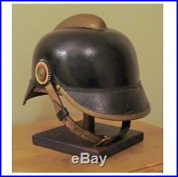 Original WW1 WW2 German Helmet With Liner & Chinstrap WWI WWII 1900