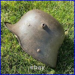 Original WW1 WWI Pre WWII WW2 German M16 Helmet