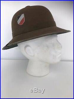 Original WW2 German DAK Pith Helmet JHS Dated 1942