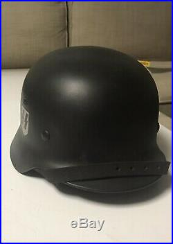 Original WW2 German Helmet Shell Refurbished To DD Elite