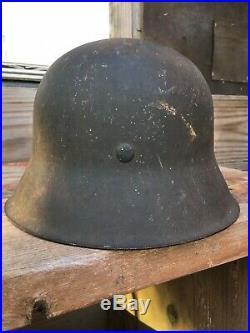 Original WW2 German Kriegsmarine M-42 Helmet with Liner